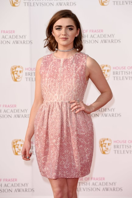 David Fisher/REX/Shutterstock  Maisie Williams House of Fraser British Academy Television Awards, Royal Festival Hall, London, Britain, May 2016