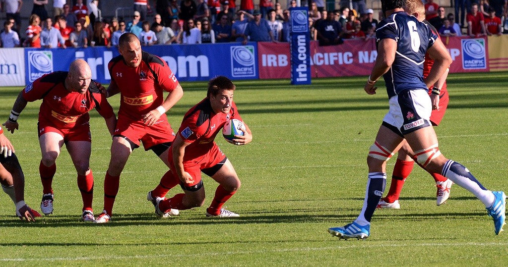 Canada vs. Japan at the World Rugby Cup | © caleb j./WikiCommons