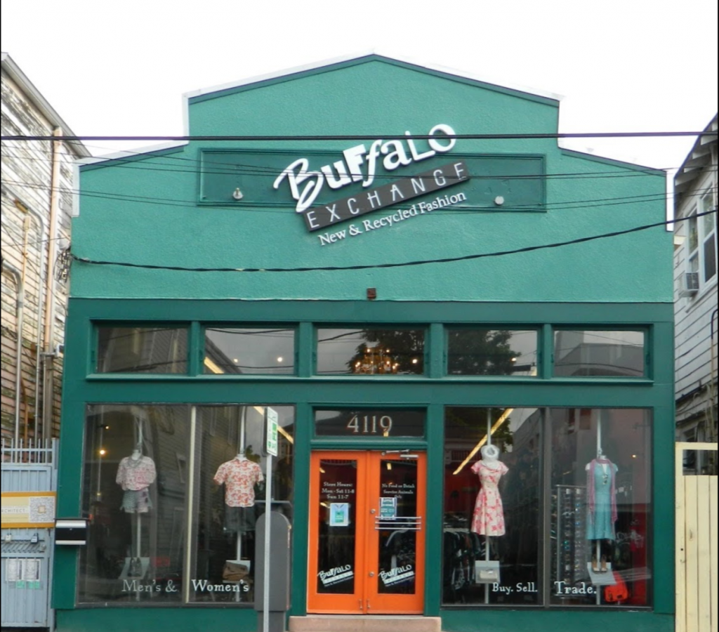 Buffalo Exchange Store Entrance | Courtesy of Buffalo Exchange