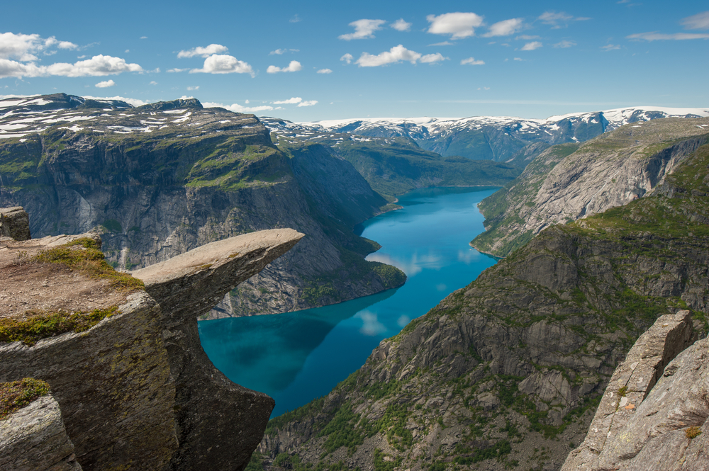 Trolltunga, Norway © javarman