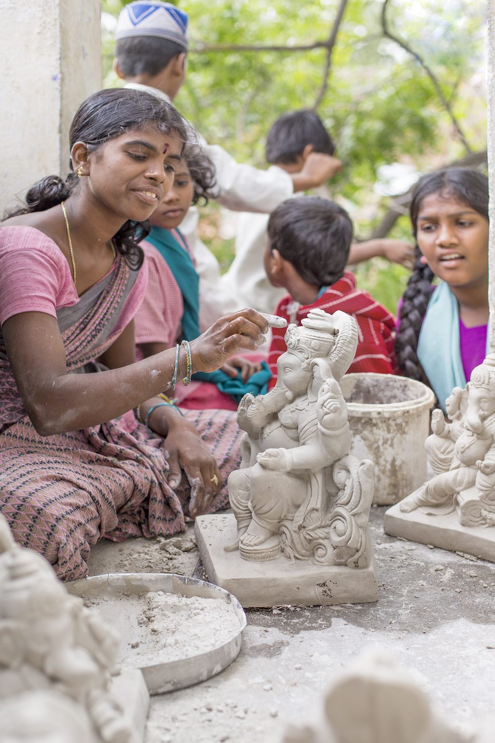 The statues being made in Anantapur © vdhya / Shutterstock.com