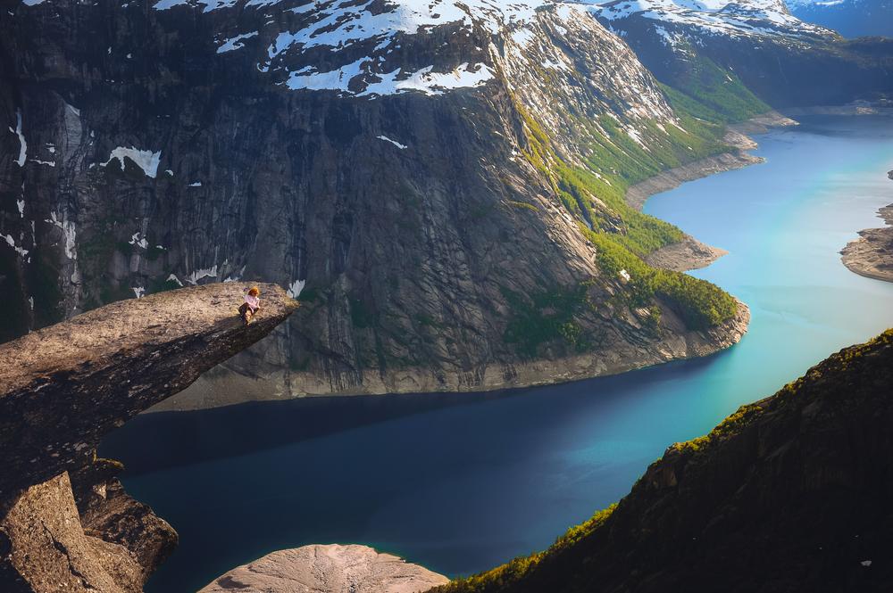 Trolltunga, Norway © Trolltunga, Norway © ginger_polina_bublik