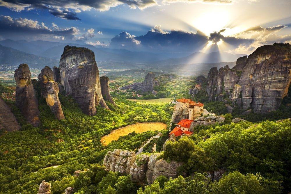 The Meteora area is on UNESCO World Heritage List since 1988 ©WitR / Shutterstock