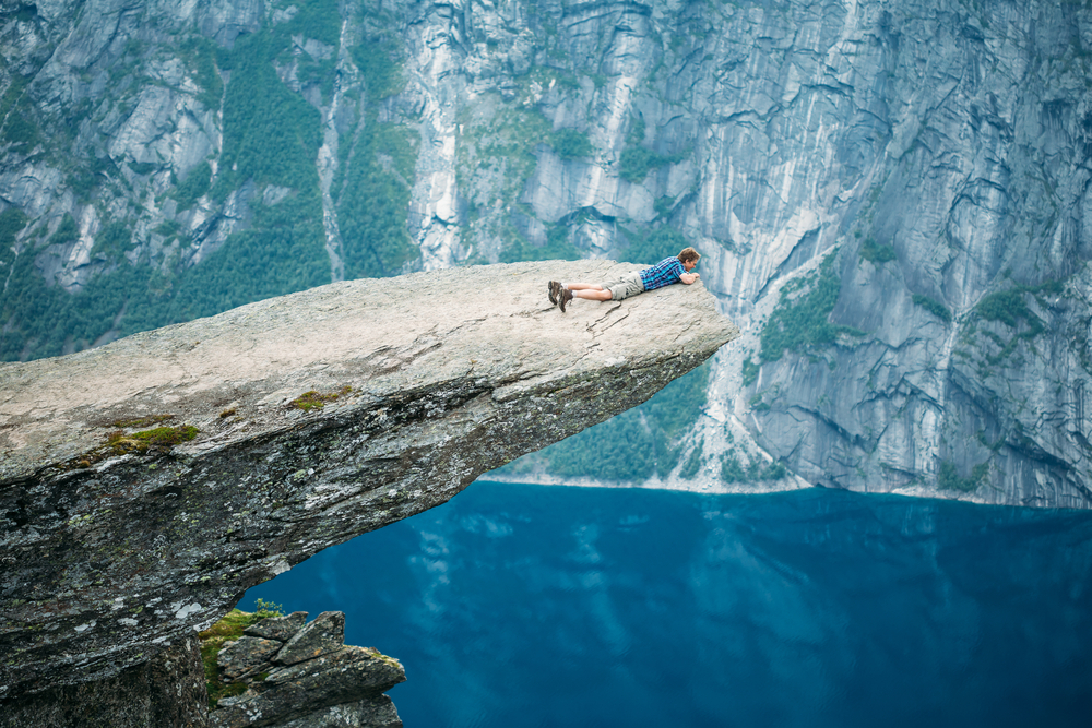Trolltunga, Norway © Grisha Bruev / Shutterstock.com