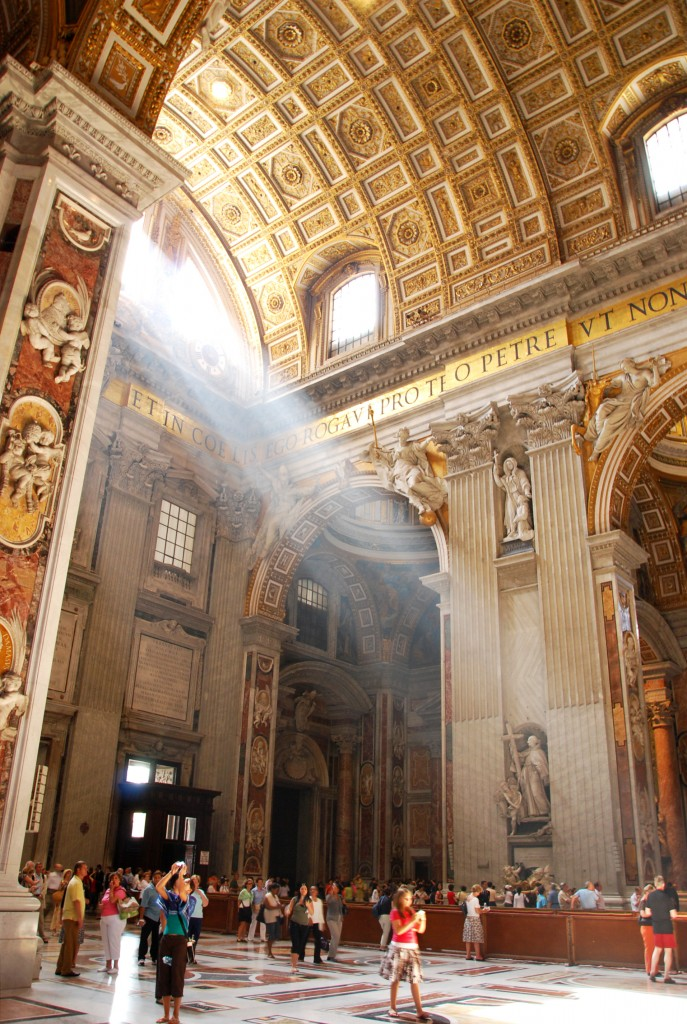 St. Peter's Basilica   ©Flickr/Michael Gwyther-Jones copy