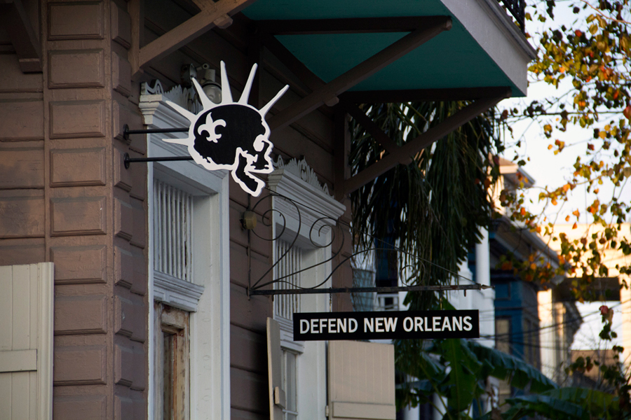 Defend New Orleans store entrance, courtesy of Defend New Orleans