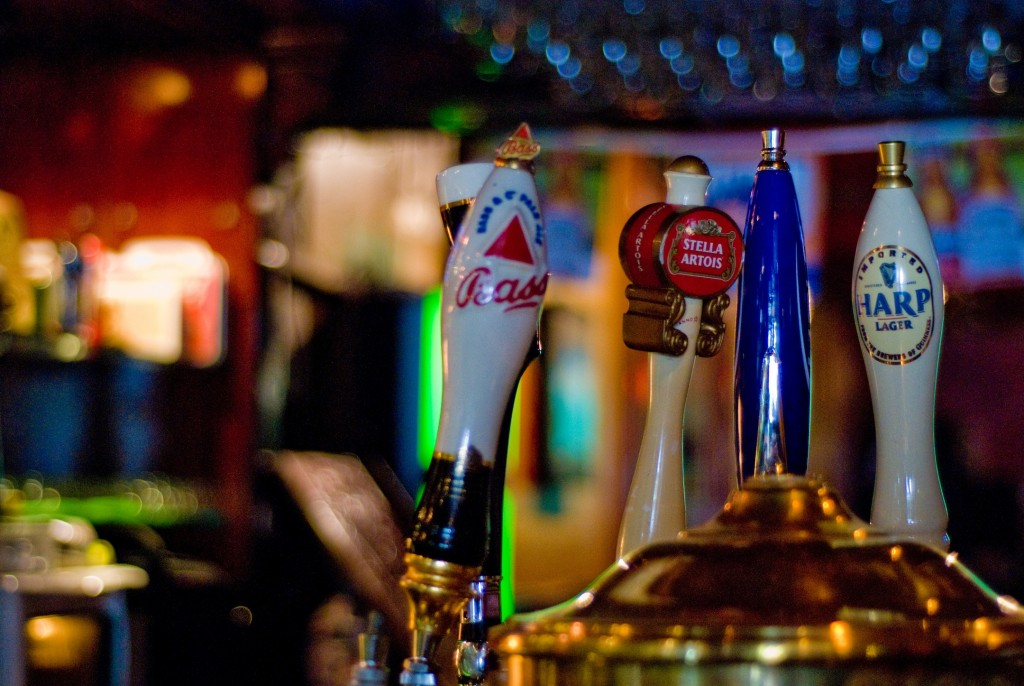 Beer Taps | © Eric Hauser/Flickr