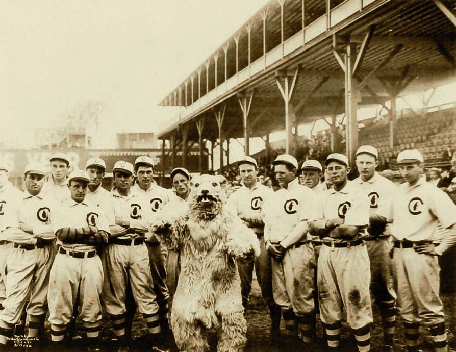 1908 Cubs team, courtesy of Wikipedia