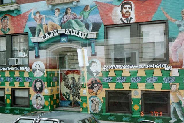 A mural in Pilsen, courtesy of Wikipedia