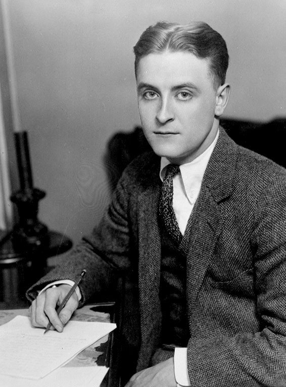 F. Scott Fitzgerald, courtesy of Wikipedia