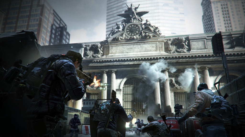 Grand Central Station in Tom Clancy's The Division | © Xbox