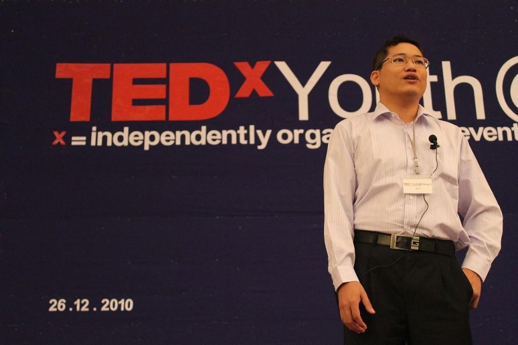 TEDxYouth Speaker © Htoo Tay Zar/Wikimedia