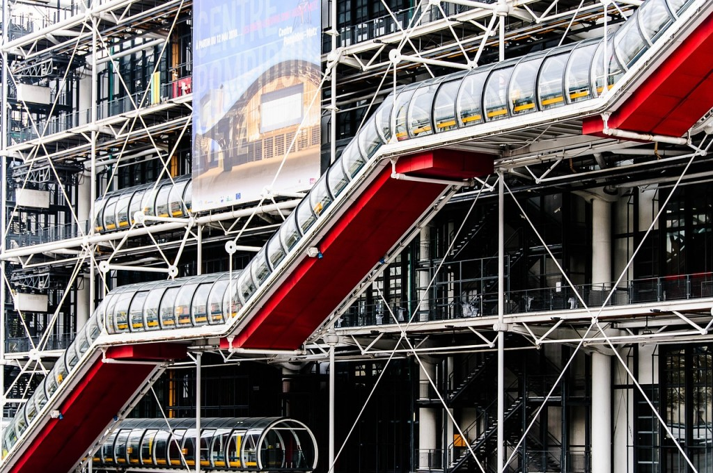 The Centre Pompidou │© bogitw