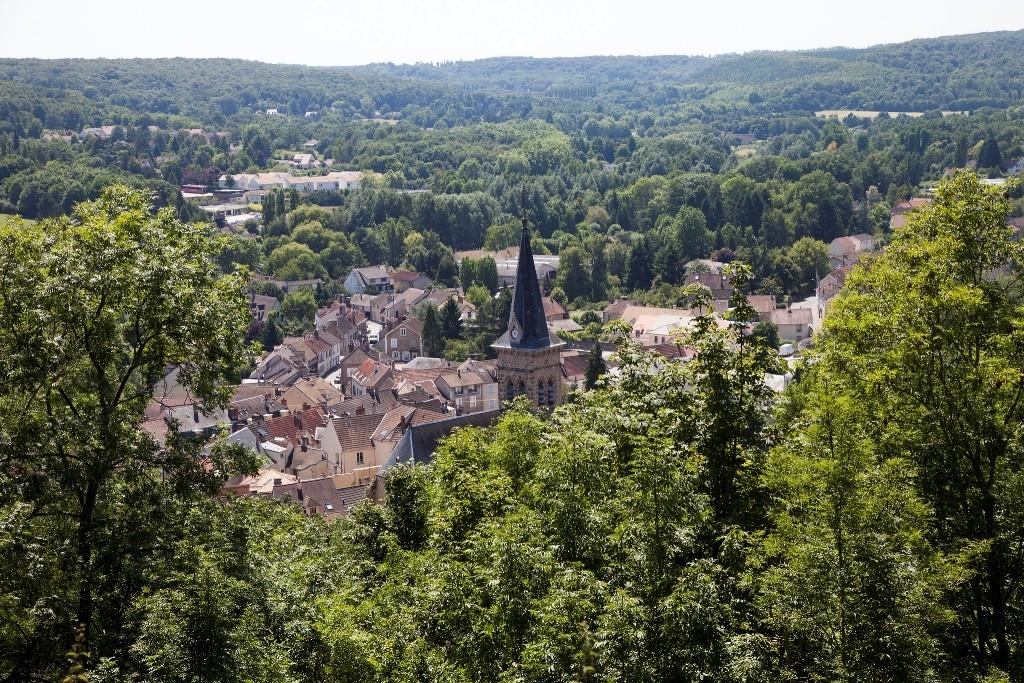 View from the Château de la Madeleine │© Conseil départemental des Yvelines