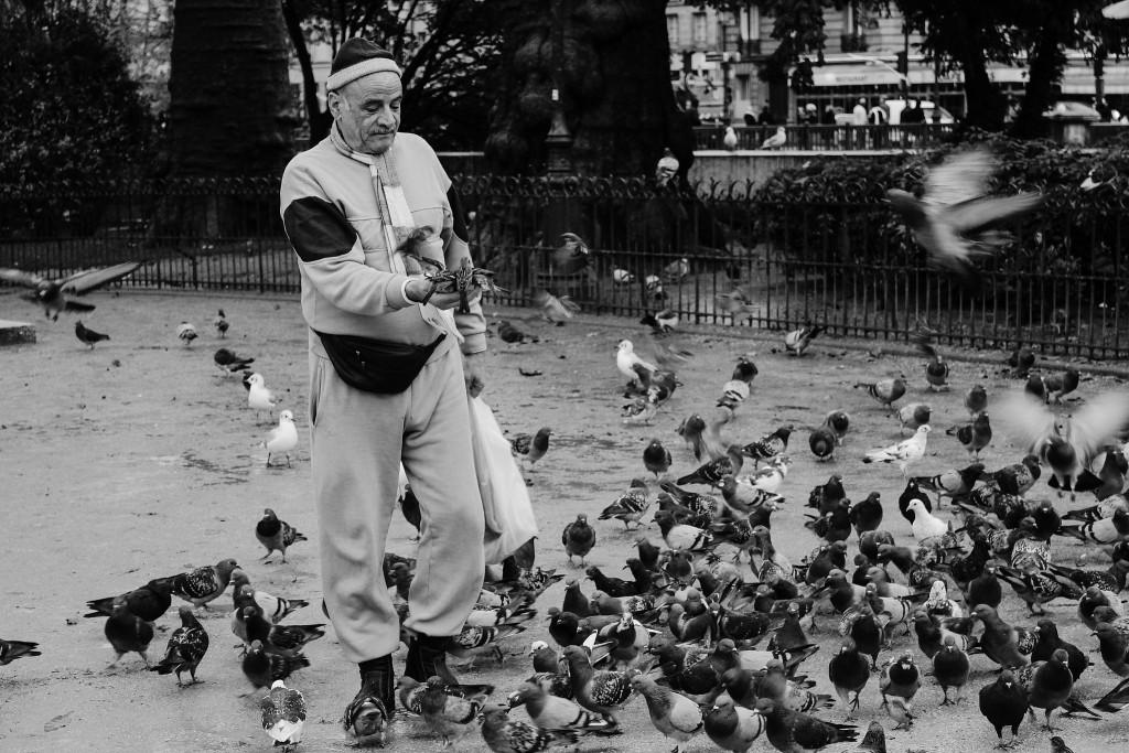 The pigeon man │ © Jakub Kadlec