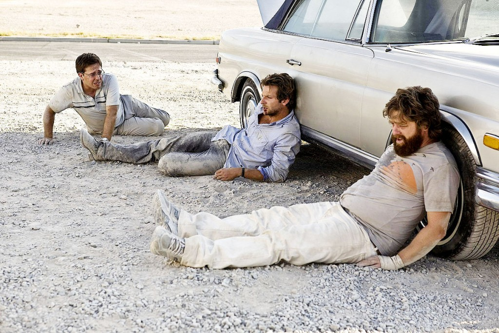 The Hangover starring Ed Helms, Bradley Cooper and Zach Galifianakis   © Warner Bros.