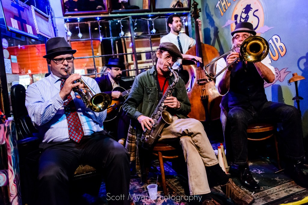 The New Orleans Jazz Vipers at the Spotted Cat Music Club on Frenchmen Street, 2013   © Neworleansjazzvipers/WikiCommons
