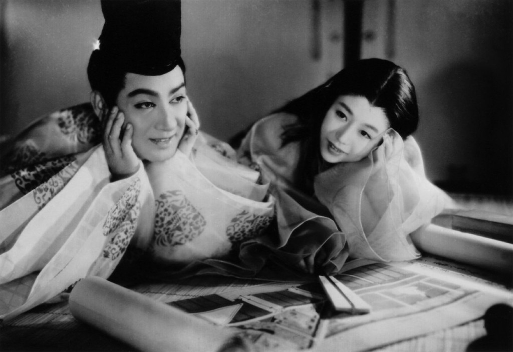 A scene from The Tale of Genji, a 1951 Japanese film | This photo is now in the public domain. Lifted from WikiCommons