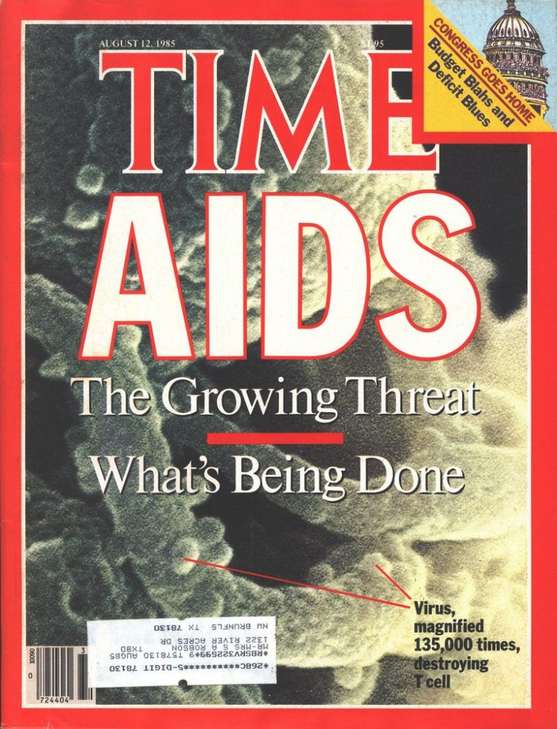 Time Magazine's August 12, 1985 cover.