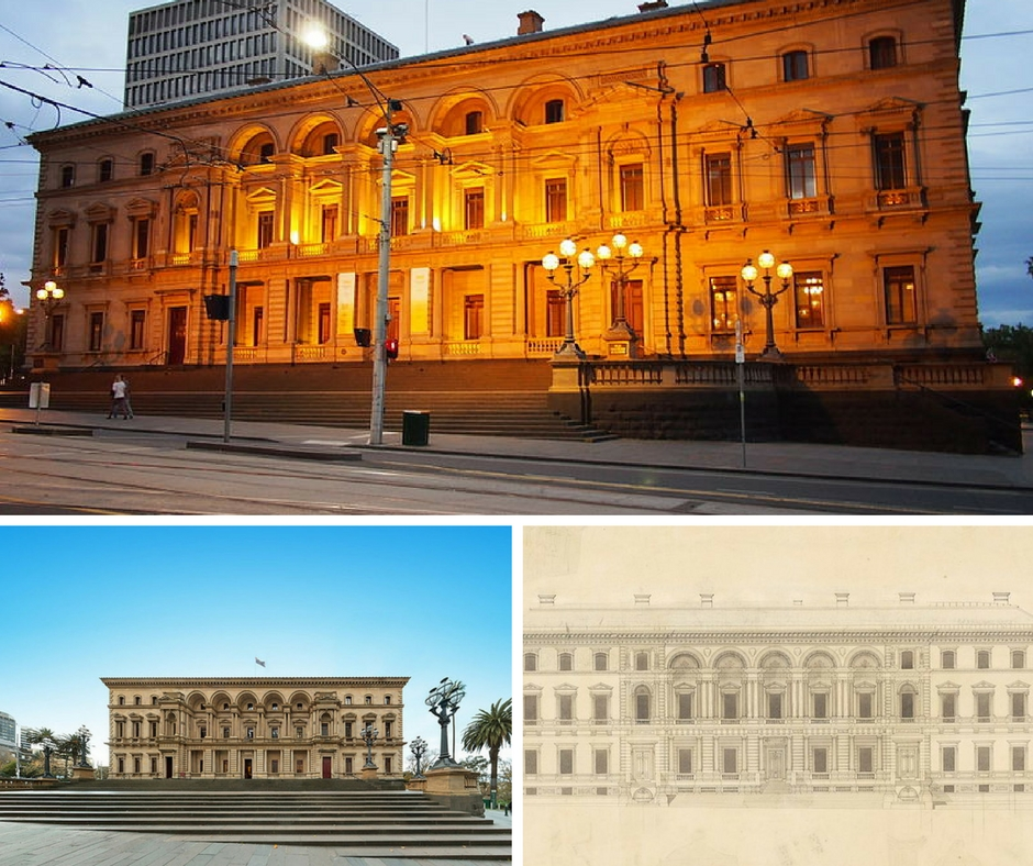 Old Room At Dusk: A History Of Melbourne's Old Treasury Building In 1 Minute
