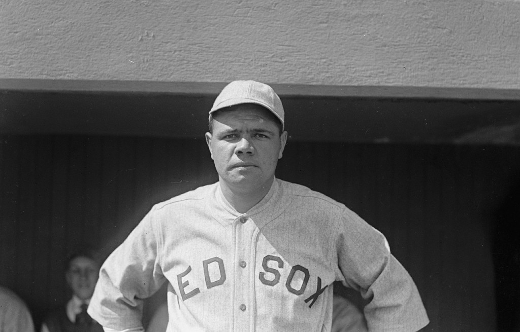 Babe Ruth in 1918| ©Pixabay