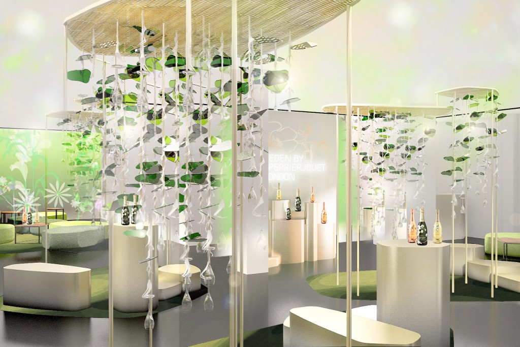 L'Eden by Perrier-Jouët|Image courtesy of the London Design Festival