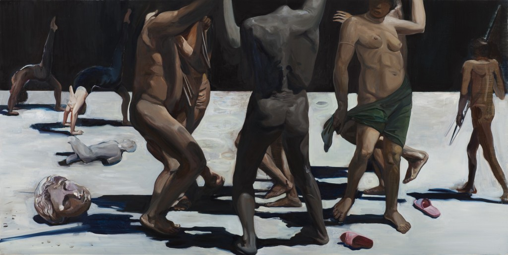 Wang Zhibo, 'Dancing is Better', 2015, Oil on linen, 78.5x90cm   Courtesy of Edouard Malingue Gallery