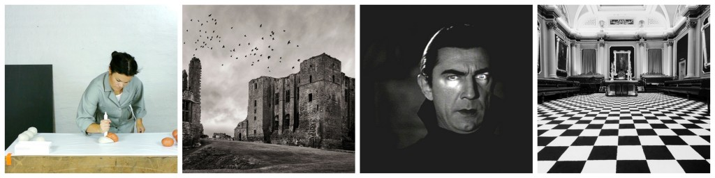 Jenny Nordberg | Courtesy of Nordic Makers / Kenilworth Castle, England | © Tilliebean/WikiCommons / Bela Lugosi in Dracula (1931) | © Public Domain/WikiCommons / Freemasons' Hall | Courtesy of Freemasons Ireland