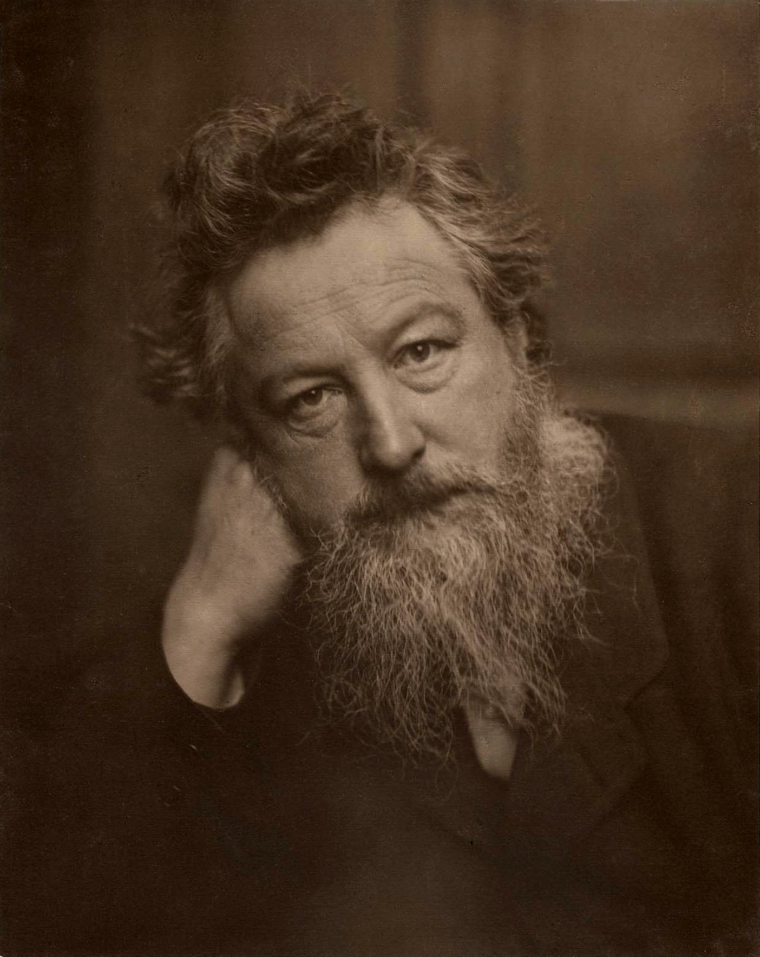 William Morris, aged 53|©Wikicommons