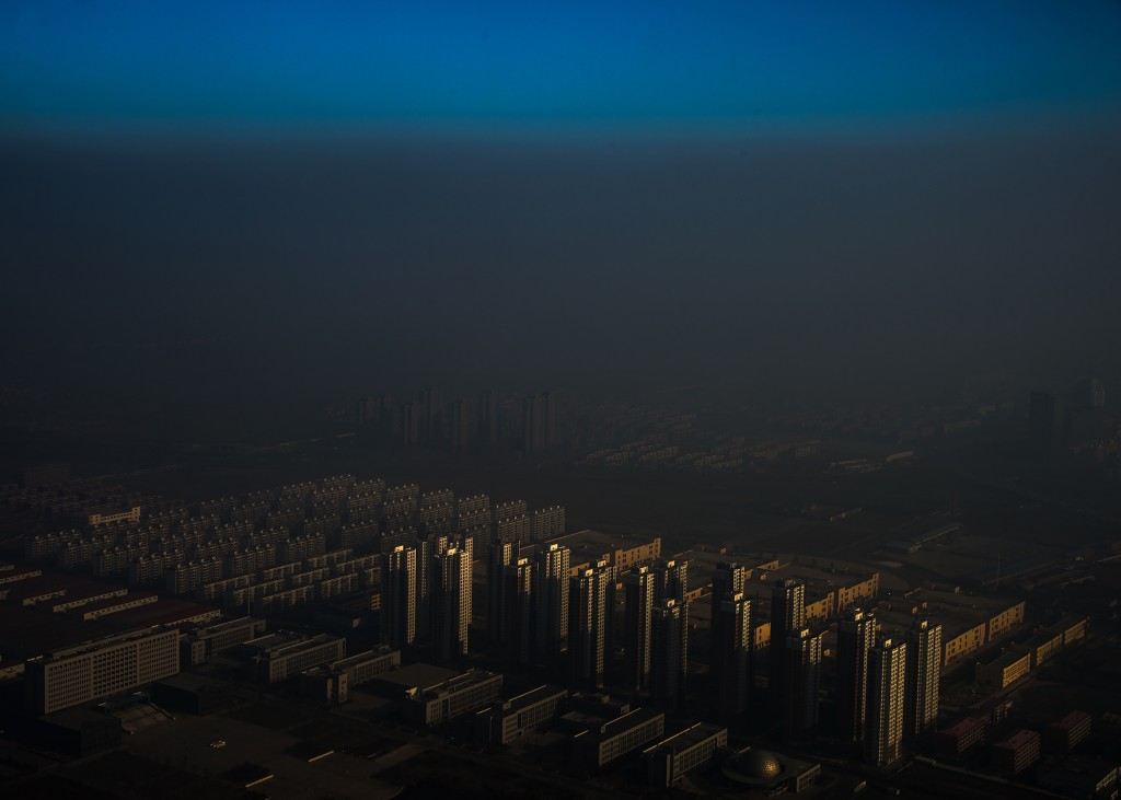 Haze in China. © Zhang Lei