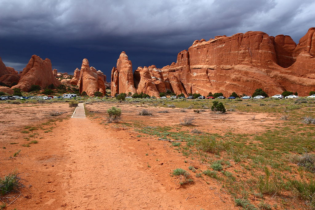 Devils Garden Trailhead at Arches National Park | © Devils Garden Trailhead at Arches National Park/Wikicommons