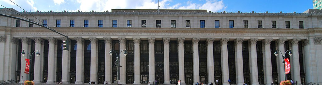 James Farley Post Office |© Wikipedia Commons