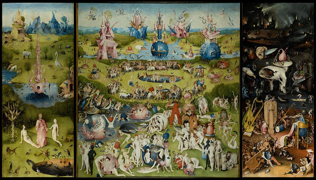 The Garden of Earthly Delights by Bosch High Resolution | © The Prado in Google Earth/WikiCommons