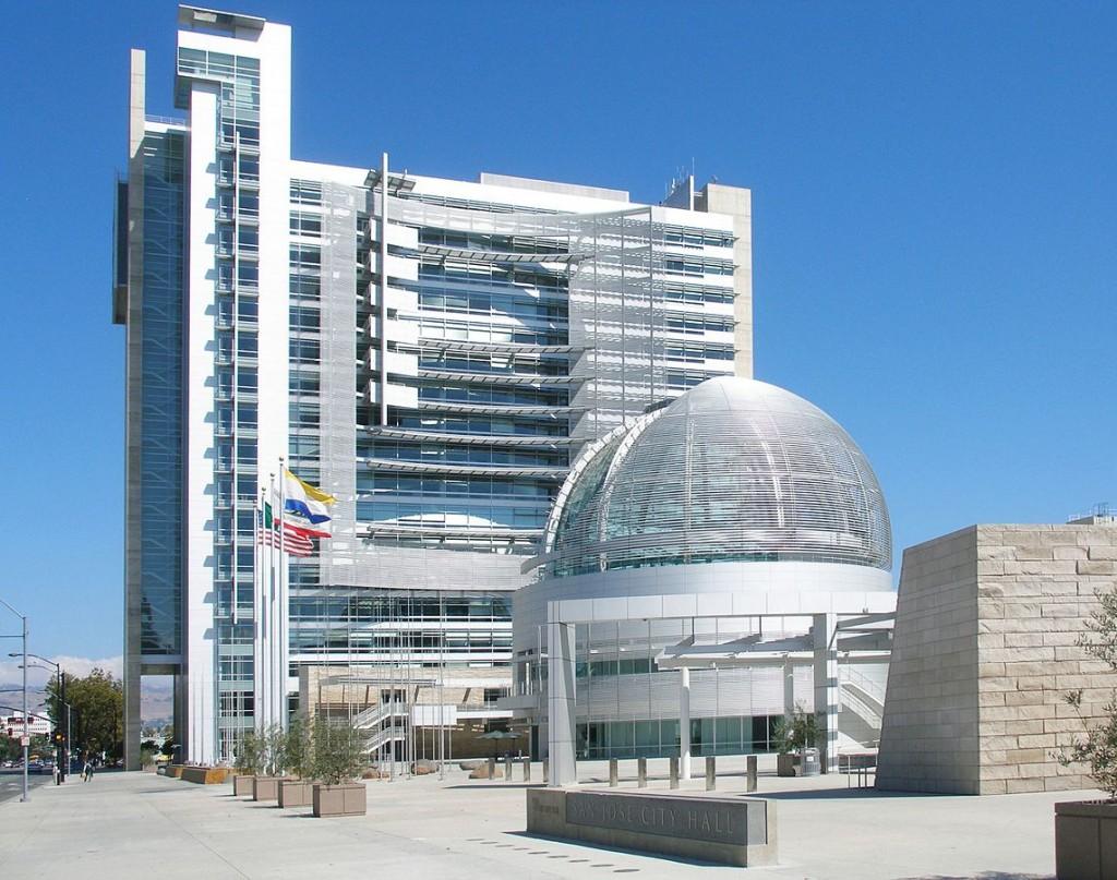San Jose City Hall © Coolcaesar/Wikipedia