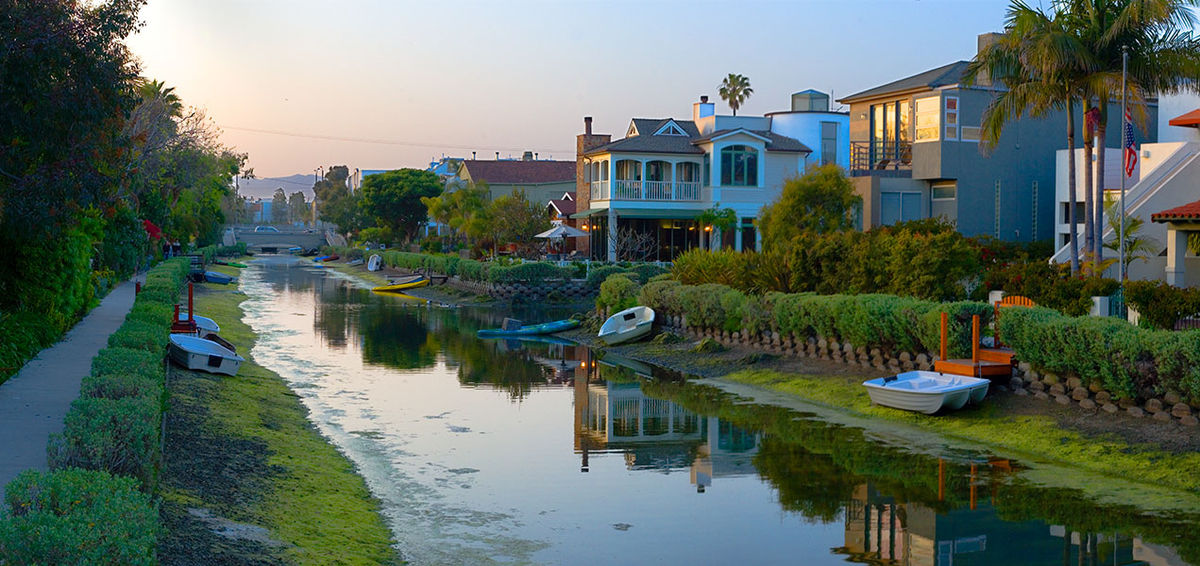 A canal in Venice, CA | Roger Howard/Wikicommons