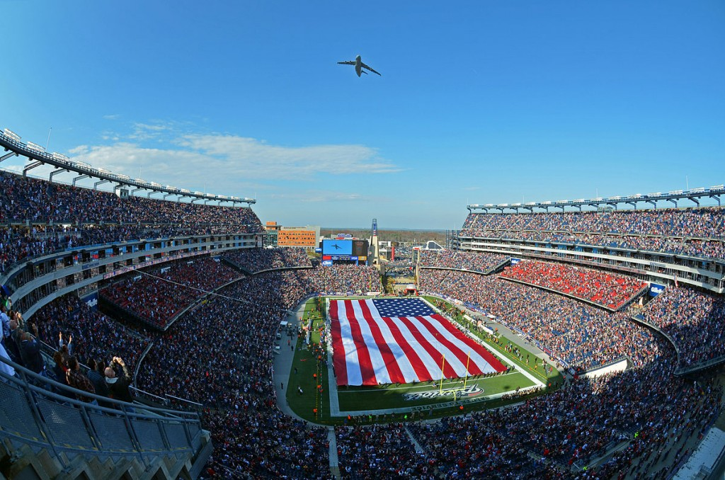 Gillette Stadium| ©U.S. Air Force/Wikimedia