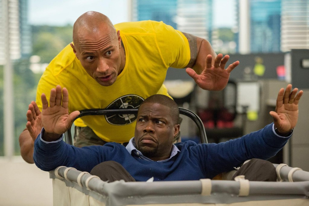 Dwayne Johnson and Kevin Hart in C'entral Intelligence' | © Universal Pictures