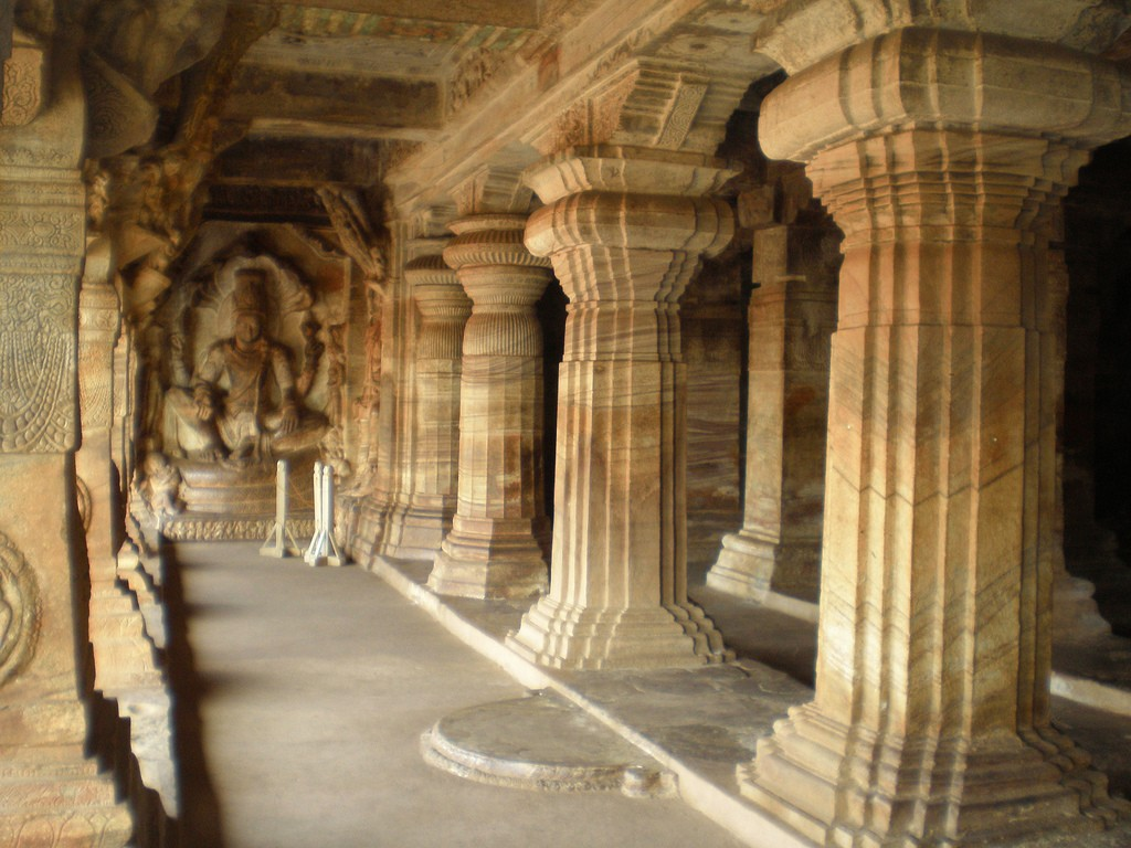 Badami Third Cave - Varaha Cave © Nilmoni Ghosh / Flickr