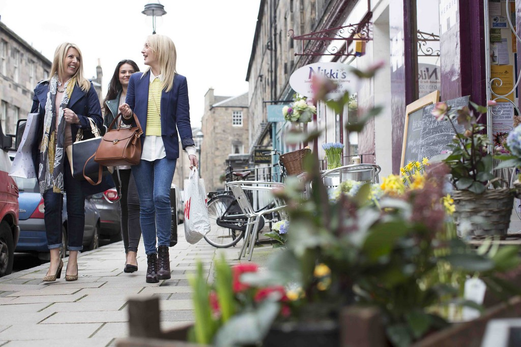 Shopping On Edinburgh's West End | © This Is Edinburgh/Flickr
