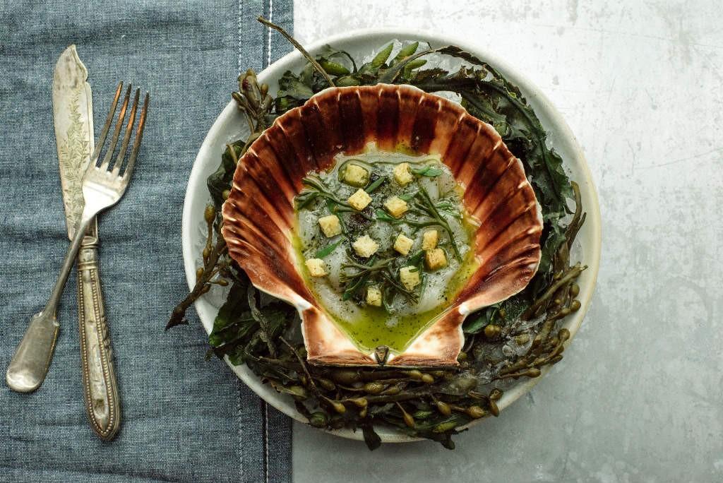 Seaweed Recipe | Courtesy Of The Kitchin