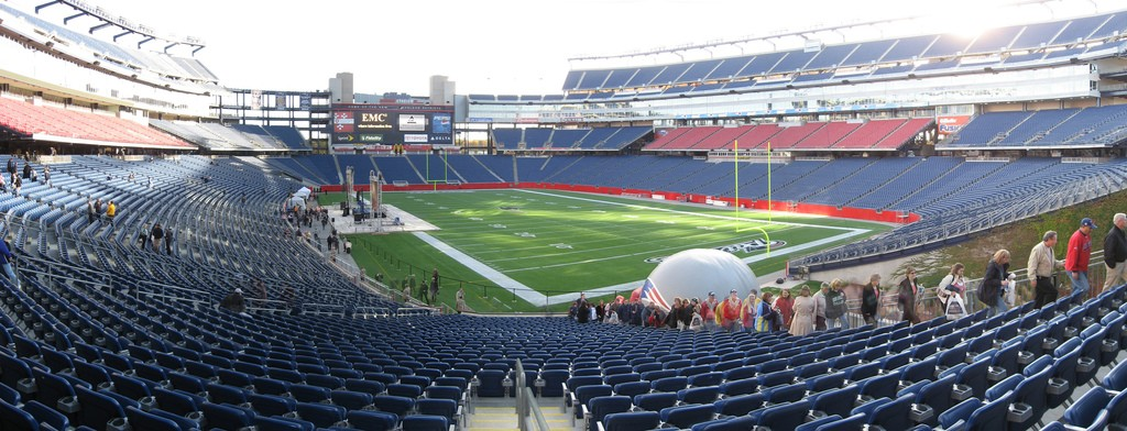 A History Of Gillette Stadium In 1 Minute