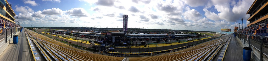 Homestead Miami Speedway Panoramic | Courtesy of Chad Sparkes/flickr