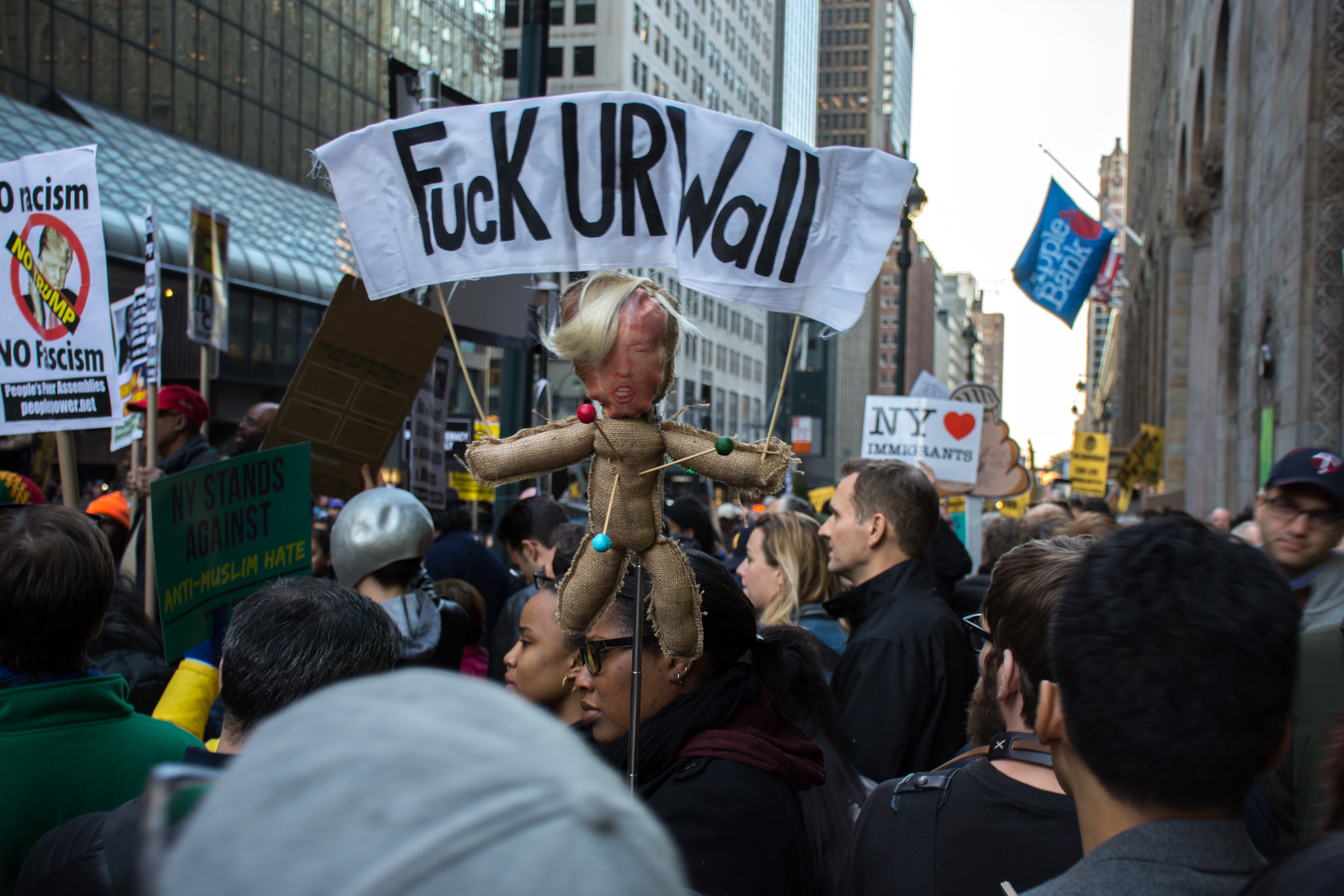 Anti-Trump Rally | © mal3k/flickr