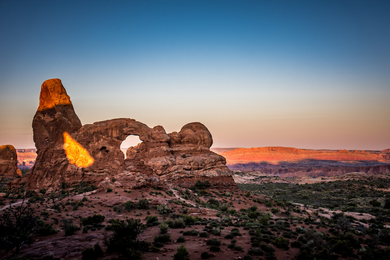 Sunrise at Arches National Park | © m01229/Flickr
