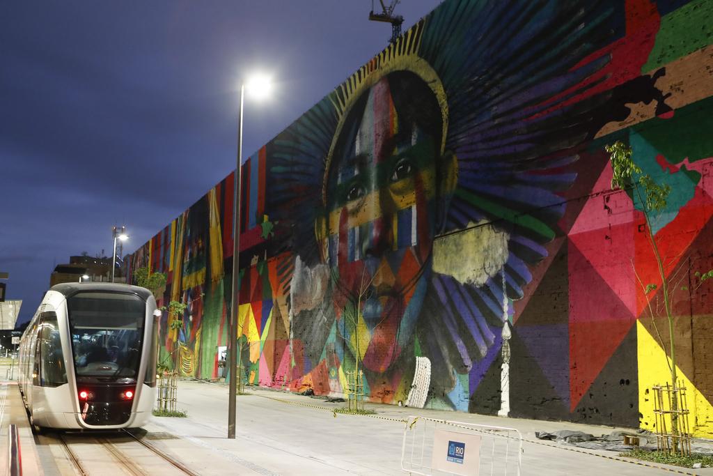 Mural by Eduardo Kobra |© Agência Brasil Fotografias/Flickr