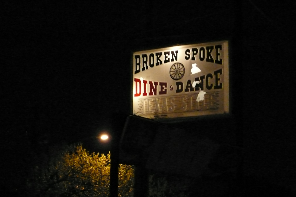 The Broken Spoke © David Coggins/Flickr