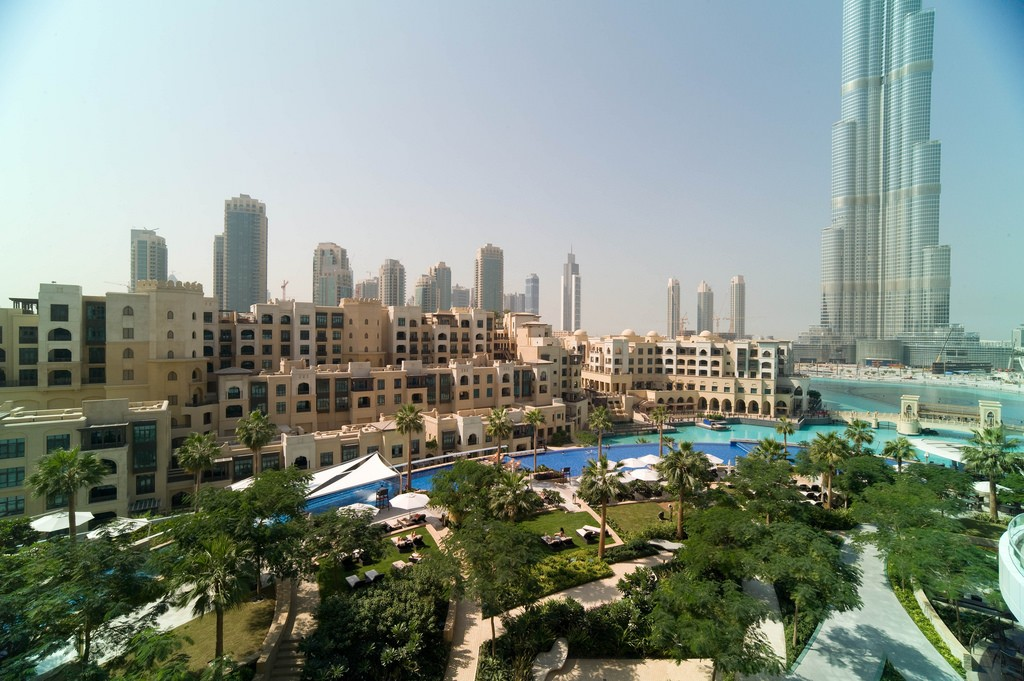 Hotel view in Downtown Dubai | © Joi Ito/Flickr