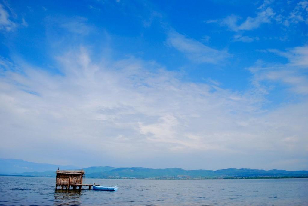 Dojran Lake on the Greek-Macedonian border | © Aleksandar Lazovski/Flickr