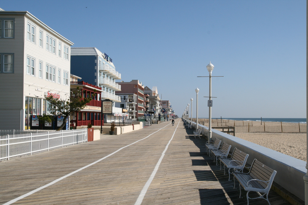 Ocean City Boardwalk | © Bernt Rostad/Flickr