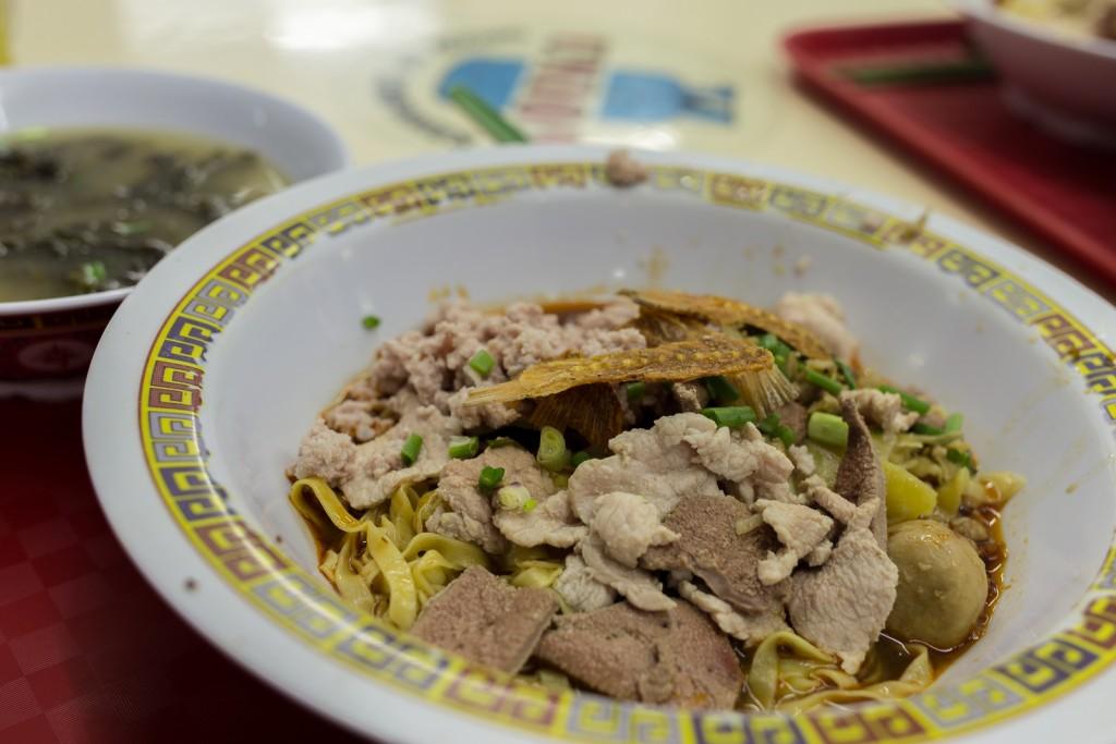 Bak Chor Mee - the hawker stall dish awarded 1 Michelin Star © Lynn Chan/Flickr
